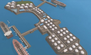 ROTARY ENGINEERING OIL TERMINAL 3D VISUALISATION
